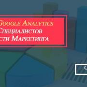 Отчеты Google Analytics