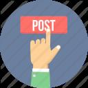 размещение постов