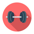 stock-illustration-43707300-flat-dumbbell-icon