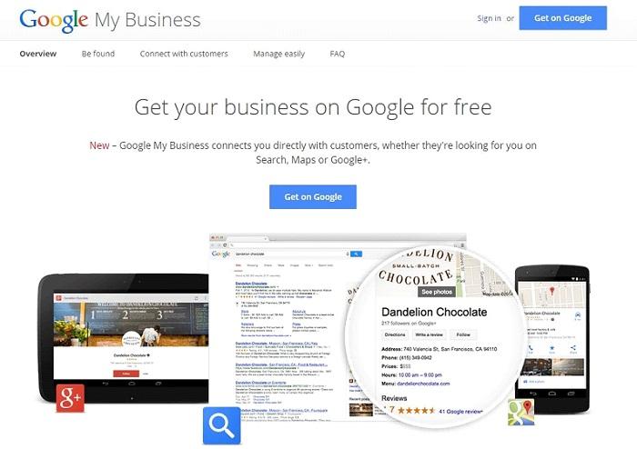 Google мой бизнес 2