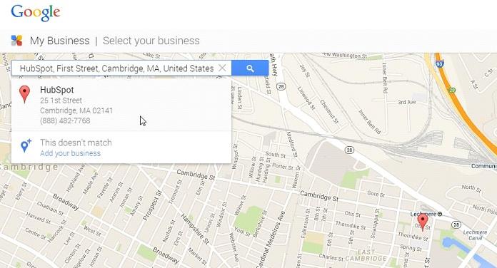 Google мой бизнес 3