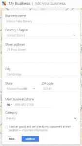 Google мой бизнес 4