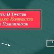 ретвиты