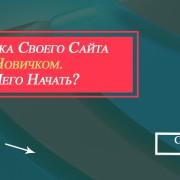 раскрутка своего сайта