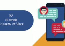 Telegram и Viber
