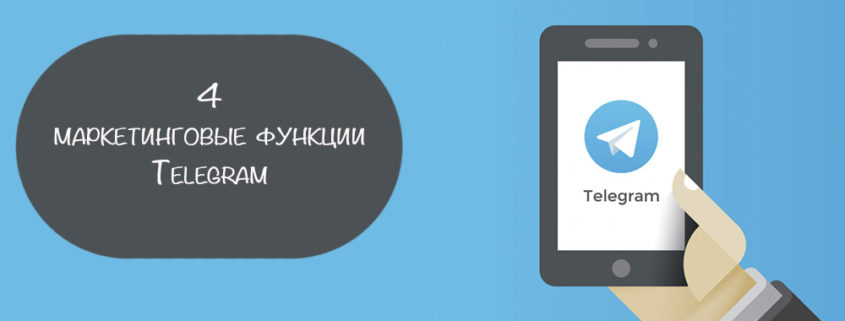 инструменты маркетинга Telegram