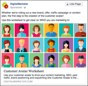 Customer Avatar Worksheet