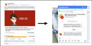 Facebook-мессенджер