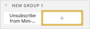 создать блок для подписки